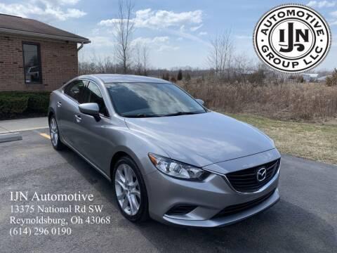 2014 Mazda MAZDA6 for sale at IJN Automotive Group LLC in Reynoldsburg OH