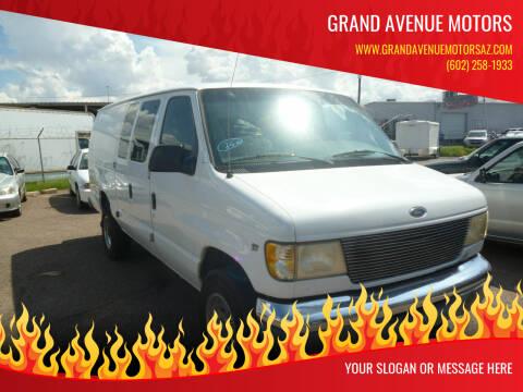 1999 Ford E-350 for sale at Grand Avenue Motors in Phoenix AZ