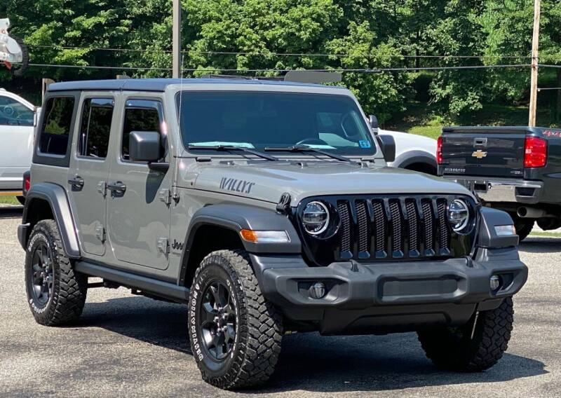 2020 Jeep Wrangler Unlimited for sale at Griffith Auto Sales in Home PA