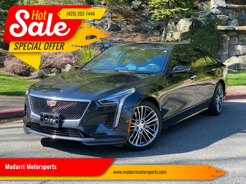 2019 Cadillac CT6-V for sale at Mudarri Motorsports in Kirkland WA