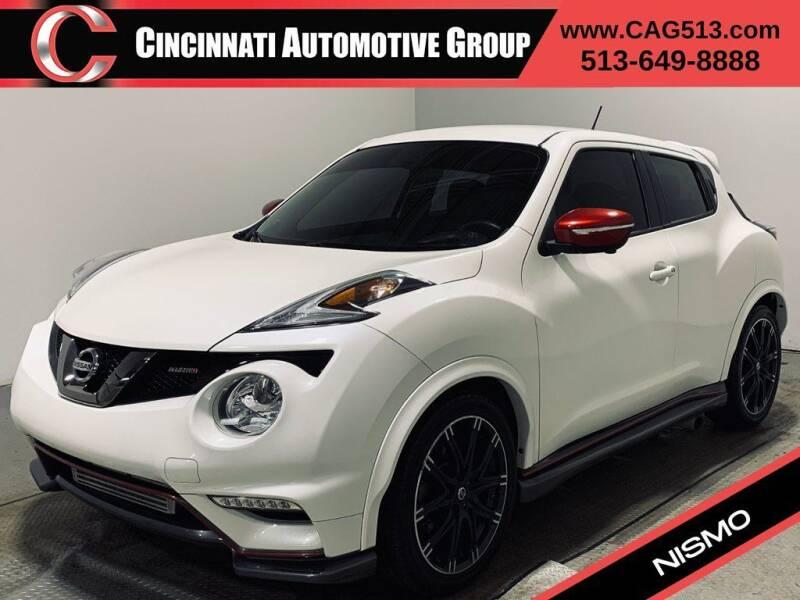 2016 Nissan JUKE for sale at Cincinnati Automotive Group in Lebanon OH