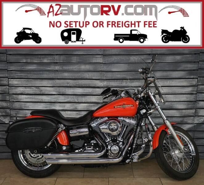 2012 Harley-Davidson Dyna for sale at AZautorv.com in Mesa AZ