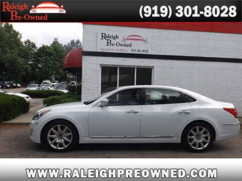 2012 Hyundai Equus for sale at Raleigh Pre-Owned in Raleigh NC