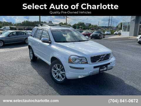 2013 Volvo XC90 for sale at Select Auto of Charlotte in Matthews NC
