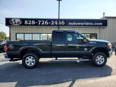 2013 Ford F-250 Super Duty for sale at AutoWorld of Lenoir in Lenoir NC