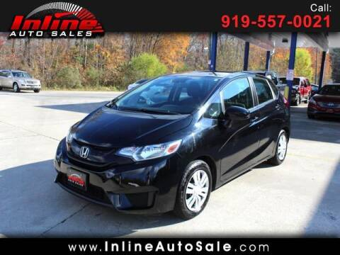 2016 Honda Fit for sale at Inline Auto Sales in Fuquay Varina NC