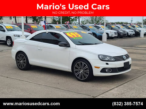 2013 Volkswagen Eos for sale at Mario's Used Cars in Houston TX