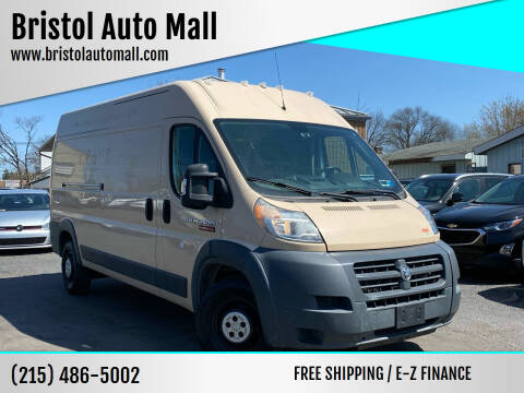 2014 RAM ProMaster Cargo for sale at Bristol Auto Mall in Levittown PA