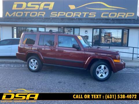 2007 Jeep Commander for sale at DSA Motor Sports Corp in Commack NY