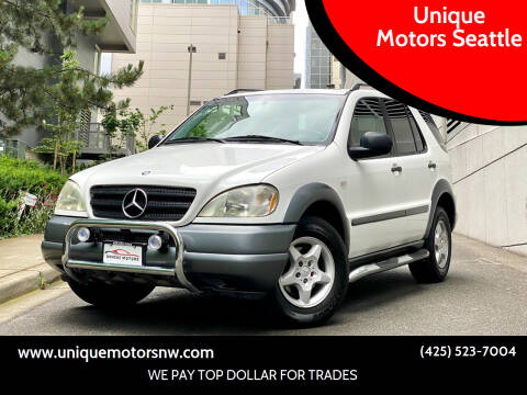 1999 Mercedes-Benz M-Class for sale at Unique Motors Seattle in Bellevue WA
