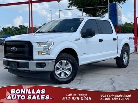 2017 Ford F-150 for sale at Bonillas Auto Sales in Austin TX
