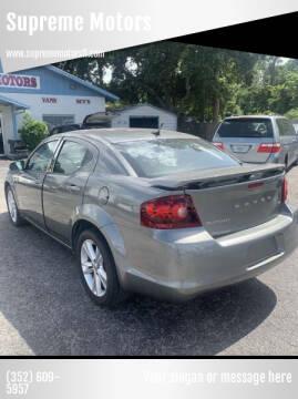2012 Dodge Avenger for sale at Supreme Motors in Tavares FL