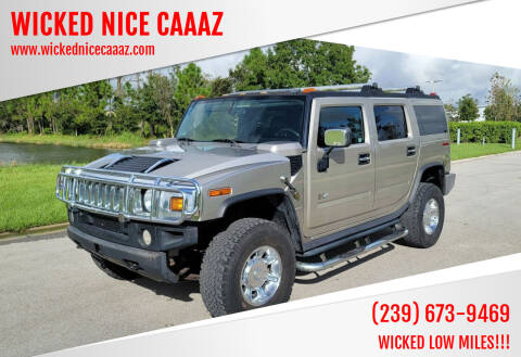 2005 HUMMER H2 for sale at WICKED NICE CAAAZ in Cape Coral FL