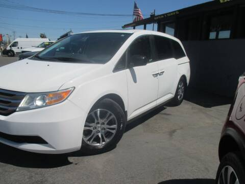 2013 Honda Odyssey for sale at Quick Auto Sales in Modesto CA