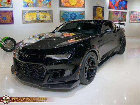 2018 Chevrolet Camaro for sale at The New Auto Toy Store in Fort Lauderdale FL