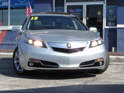 2012 Acura TL for sale at VIP AUTO ENTERPRISE INC. in Orlando FL