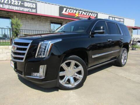 2016 Cadillac Escalade for sale at Lightning Motorsports in Grand Prairie TX