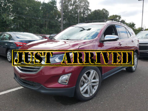 2018 Chevrolet Equinox for sale at BRYNER CHEVROLET in Jenkintown PA