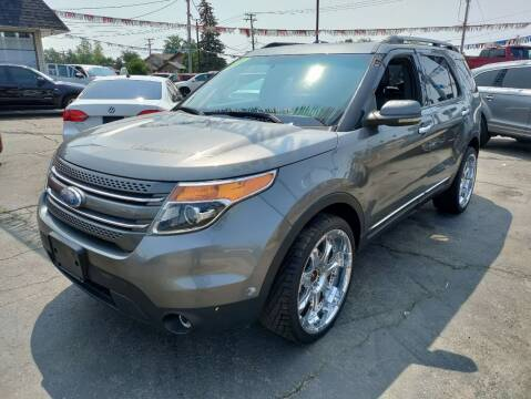 2012 Ford Explorer for sale at TOP YIN MOTORS in Mount Prospect IL