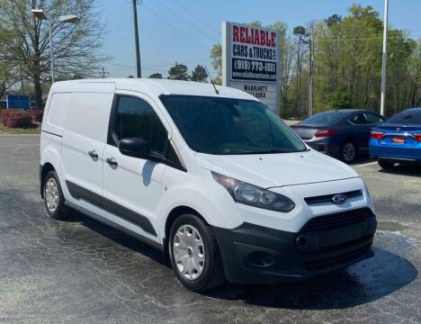2016 Ford Transit Connect Cargo for sale at Reliable Cars & Trucks LLC in Raleigh NC