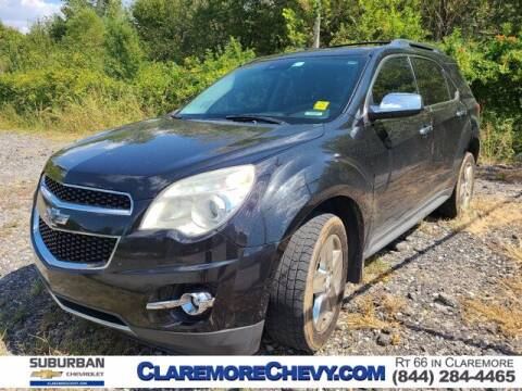 2014 Chevrolet Equinox for sale at Suburban Chevrolet in Claremore OK