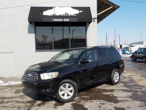 2008 Toyota Highlander for sale at FAIRWAY AUTO SALES, INC. in Melrose Park IL