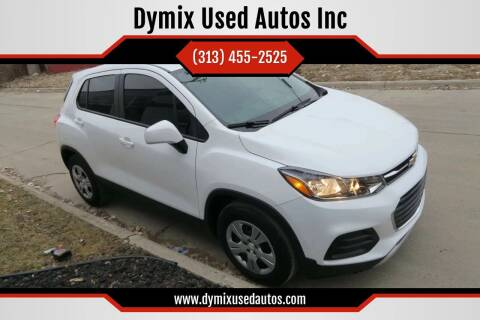 2017 Chevrolet Trax for sale at Dymix Used Autos & Luxury Cars Inc in Detroit MI