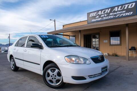 2006 Toyota Corolla for sale at Beach Auto and RV Sales in Lake Havasu City AZ