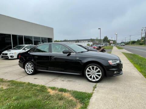 2013 Audi A4 for sale at HOUSE OF CARS CT in Meriden CT