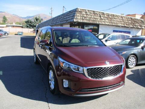 2018 Kia Sedona for sale at Autobahn Motors Corp in Bountiful UT