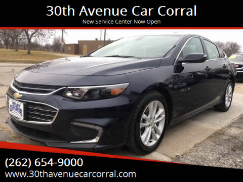 2018 Chevrolet Malibu for sale at 30th Avenue Car Corral in Kenosha WI