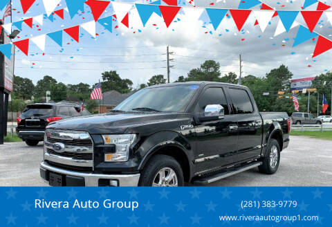 2015 Ford F-150 for sale at Rivera Auto Group in Spring TX