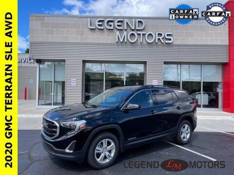 2020 GMC Terrain for sale at Legend Motors of Waterford in Waterford MI
