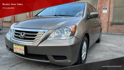 2009 Honda Odyssey for sale at Rocky's Auto Sales in Worcester MA