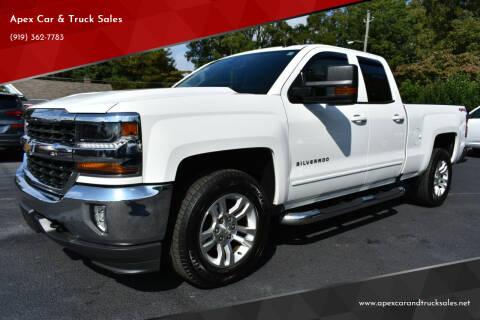 2017 Chevrolet Silverado 1500 for sale at Apex Car & Truck Sales in Apex NC