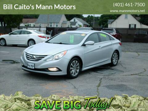 2014 Hyundai Sonata for sale at Bill Caito's Mann Motors in Warwick RI