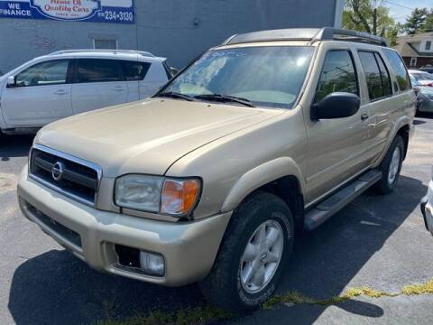 2002 Nissan Pathfinder for sale at JC Auto Sales - Suburban Motors in Belleville IL