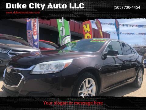 2015 Chevrolet Malibu for sale at Duke City Auto LLC in Gallup NM