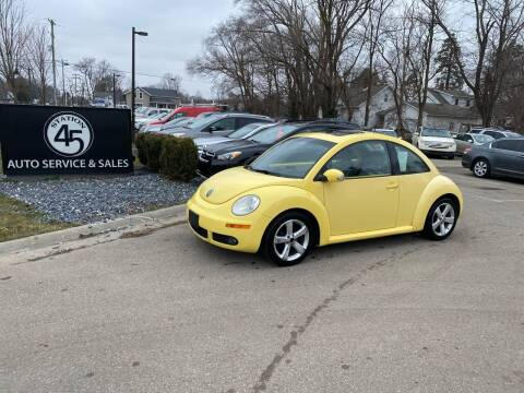2006 Volkswagen New Beetle for sale at Station 45 Auto Sales Inc in Allendale MI