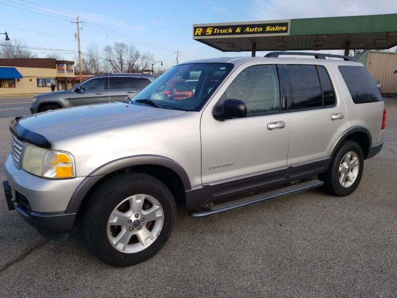 2004 Ford Explorer for sale at R & S TRUCK & AUTO SALES in Vinita OK