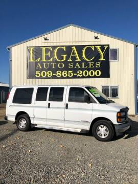 1998 GMC Savana for sale at Legacy Auto Sales in Toppenish WA