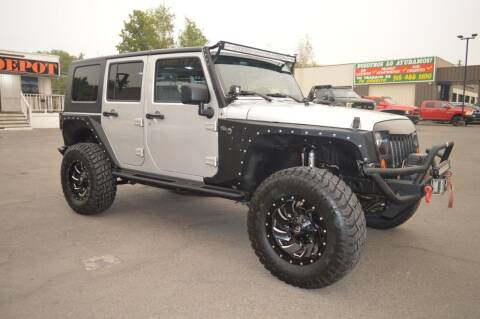 2007 Jeep Wrangler Unlimited for sale at Sac Truck Depot in Sacramento CA