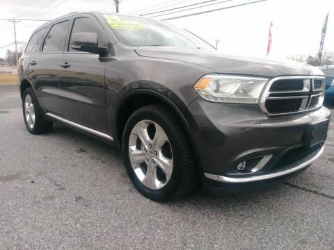 2014 Dodge Durango for sale at ABC Auto Sales and Service in New Castle DE