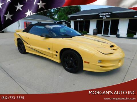2002 Pontiac Firebird for sale at Morgan's Auto Inc in Paoli IN