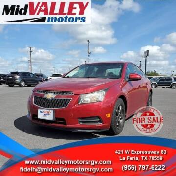 2011 Chevrolet Cruze for sale at Mid Valley Motors in La Feria TX