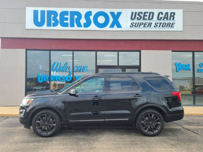 2017 Ford Explorer for sale at Ubersox Used Car Superstore in Monroe WI