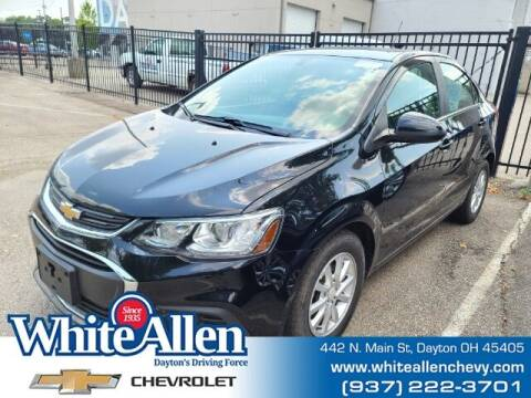 2017 Chevrolet Sonic for sale at WHITE-ALLEN CHEVROLET in Dayton OH