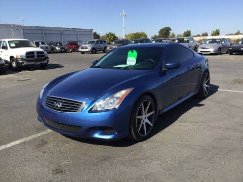 2009 Infiniti G37 Coupe for sale at My Three Sons Auto Sales in Sacramento CA