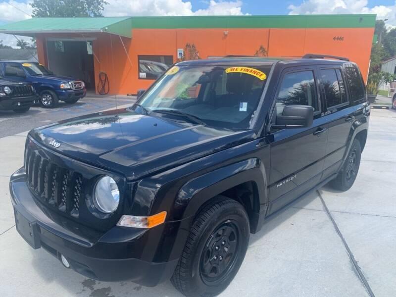 2016 Jeep Patriot for sale at Galaxy Auto Service, Inc. in Orlando FL