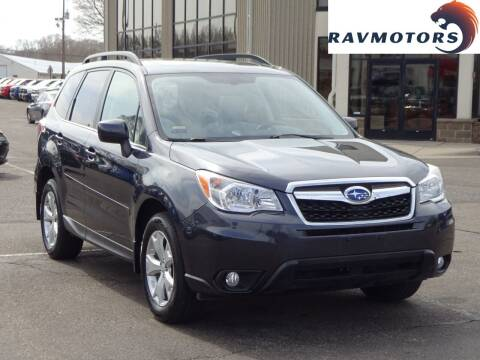2014 Subaru Forester for sale at RAVMOTORS 2 in Crystal MN